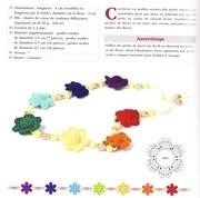 tutoriel collier fleur