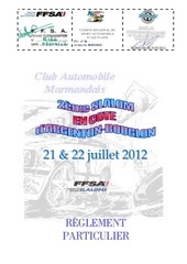 reglement argenton bouglon pilote 2012
