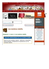 www mathovore fr les nombres relatifs cours maths 293