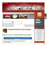 www mathovore fr proportionnalite et pourcentage cours maths 291