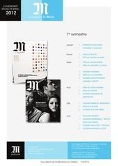 calendrier2012 m magazine