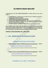 Fichier PDF ultimate mass mailing la vente des ordinateurs sous umm module n 01