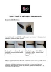 kr808d 1 mode d emploi 1