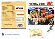 plaquette sushis