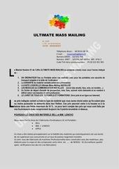 ultimate mass mailing la vente des ordinateurs sous umm module n 01