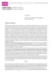Fichier PDF lettre enseignants 6e 1