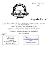 magnetos catalog