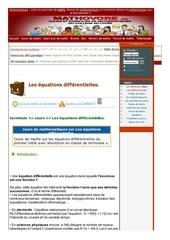 Fichier PDF www mathovore fr les equations differentielles cours maths 17