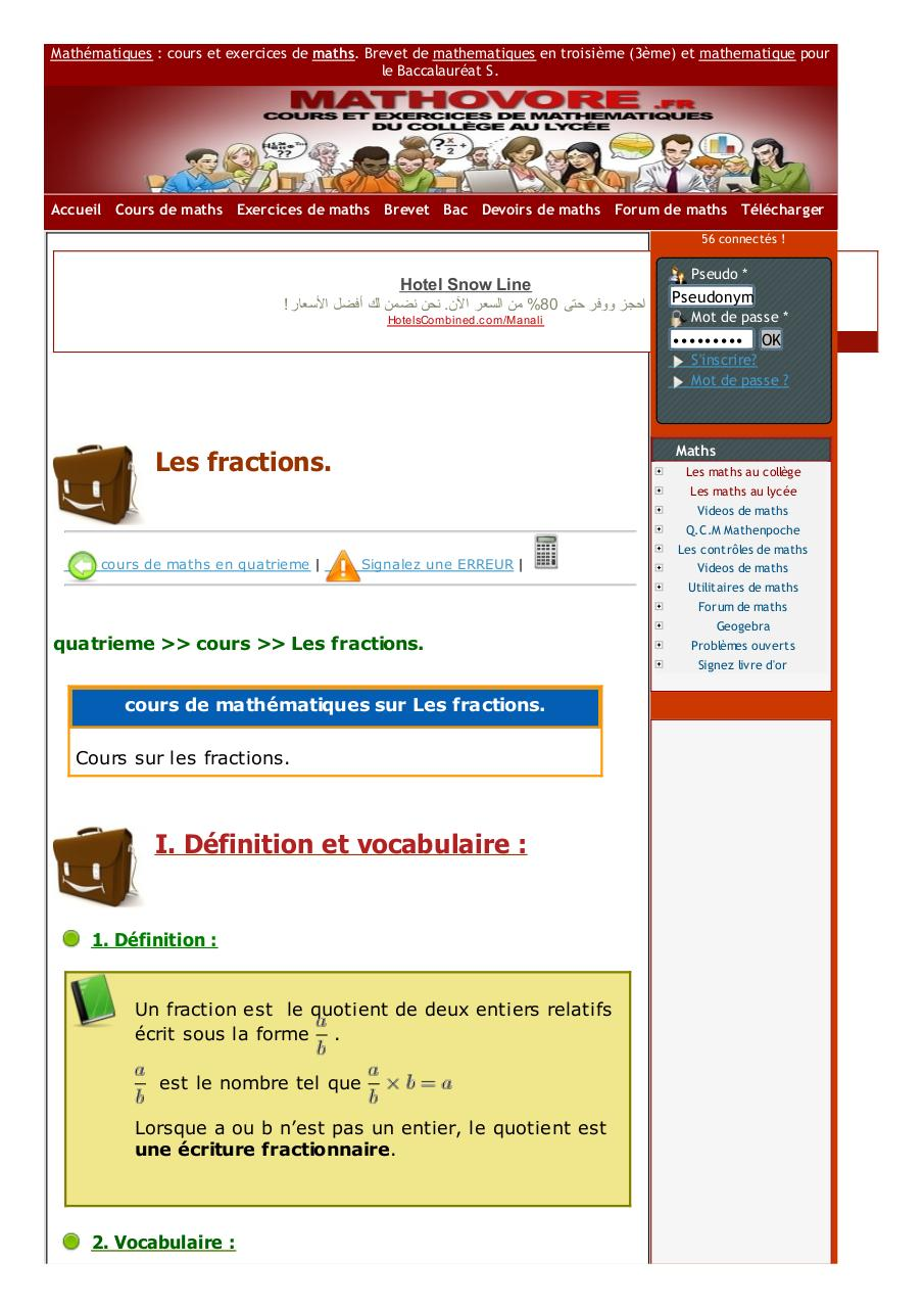 www.mathovore.fr-les-fractions-cours-maths-327.pdf - page 1/5