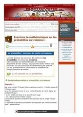 www mathovore fr les probabilites exercices mathematiques troisieme 13