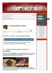 www mathovore fr les pyramides et cones cours maths 39