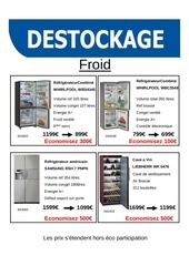 destockage froid fr