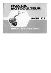 manuel utilisateur f28
