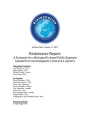 Fichier PDF report danger des champs bioinitiative