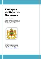 boletin informativo especial visita del canciller chileno a marruecos