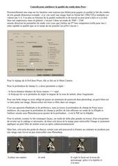 Fichier PDF conseils pour ameliorer la qualite du rendu dans poser