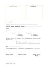 certificat medical pdf