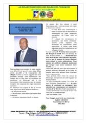 le bulletin du gouverneur juin 2012