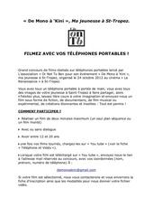 Fichier PDF reglement