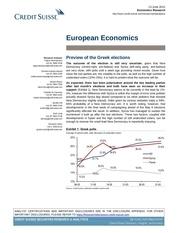 credit suisse european economi