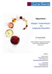 fiche bi degustation cepages authentiques ny 2012
