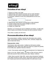 Fichier PDF aideviinyl 1