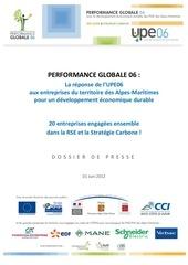 dp performance globale 06 dossier de presse juin 2012