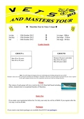 Fichier PDF information about vets and master tour 2012
