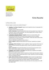Fichier PDF plantes utiles recettes