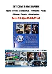 detective prive private detective investigator devis 00 33 0 6 8
