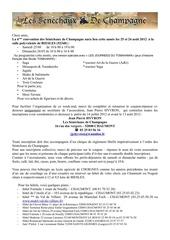 bulletin d isncription 2012