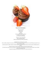 cupcakes fraises framboises ou autres