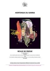 Fichier PDF hortensia du samba revue de presse