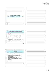 Fichier PDF 1 cours gestion des risques realise mode de compatibilite