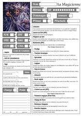 Fichier PDF la magicienne