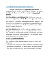 cours 1ere annee
