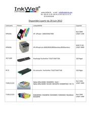 nouveaux produits juin 2012