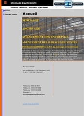 site stockage equipements