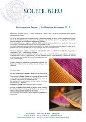 Fichier PDF information presse soleilbleu automne2012
