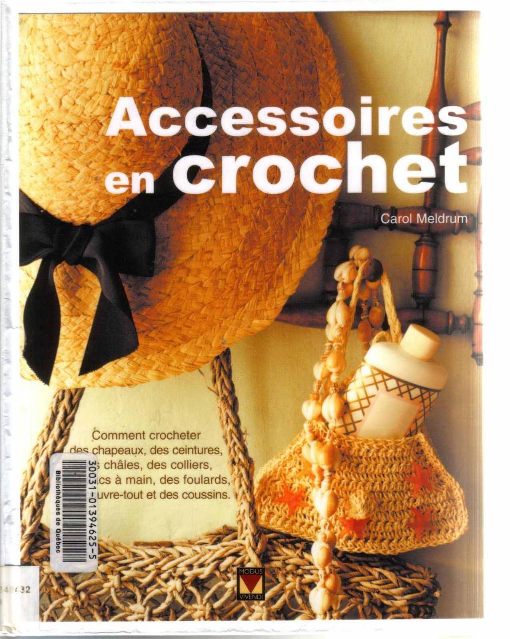 Aperçu Accessoires.En.Crochet.pdf - Page 1/125