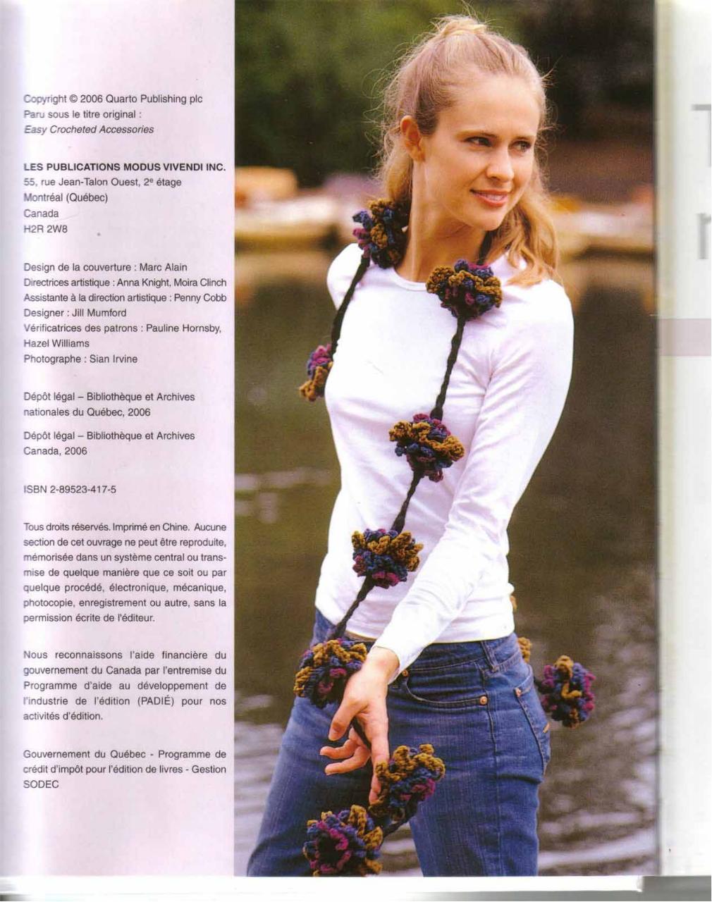 Aperçu Accessoires.En.Crochet.pdf - Page 4/125