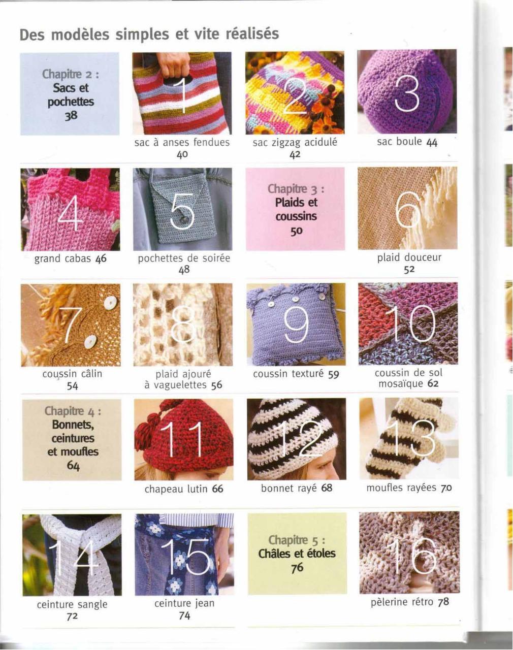 Aperçu Accessoires.En.Crochet.pdf - Page 6/125