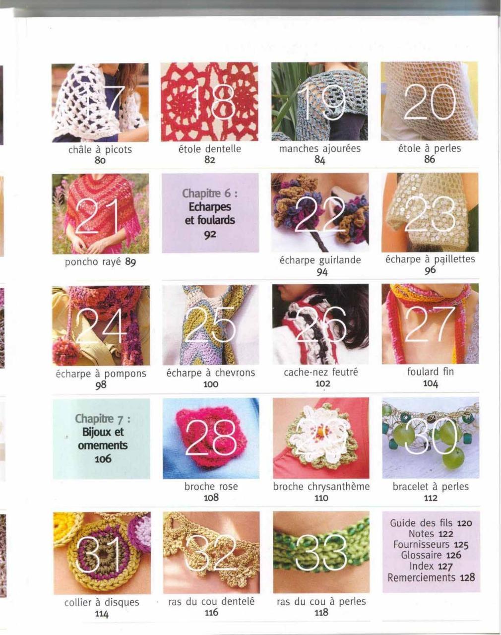 Aperçu Accessoires.En.Crochet.pdf - Page 7/125