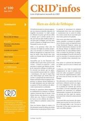 crid infos juin 2012