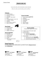 Fichier PDF trousseau sejour interquartier 2012