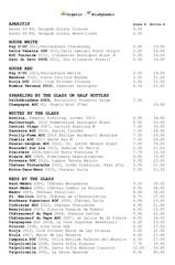 winebar winelist june 2012