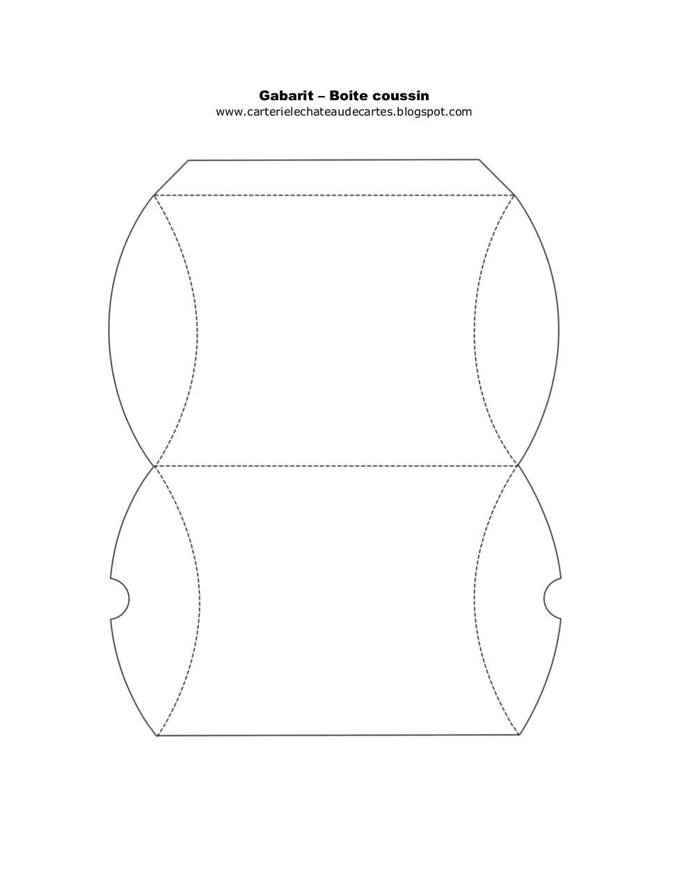 Gabarit boite par manon fichier pdf - Gabarit boite en papier ...