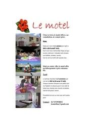 Fichier PDF le motel