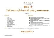 Fichier PDF cake au chevre et aux pruneaux
