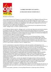 declaration des elus cgt seance dp du 03 juillet 2012